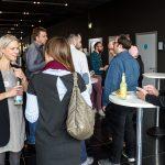 Teilnehmer des WUDs während der Kaffeepause.