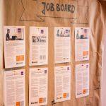 Jobboard mit Stellenausschreibungen.