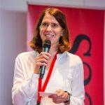 Sylvia Böhm moderiert den WUD 2018.